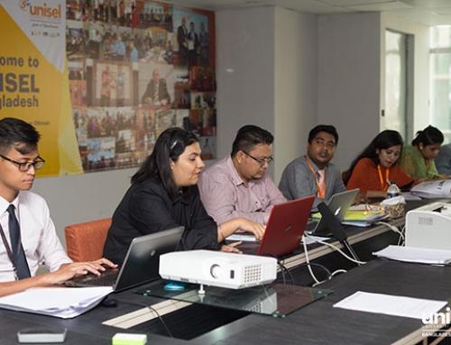 Training workshops for the employees of UNISEL Bangladesh